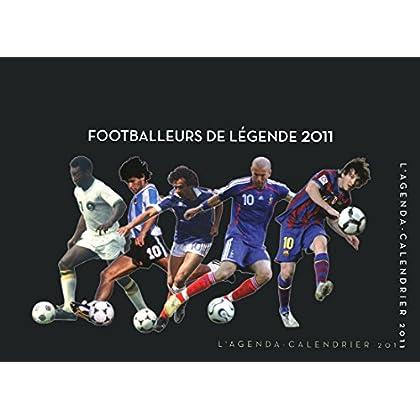AGENDA CALENDRIER FOOTBALLEURS DE LEGENDE 2011