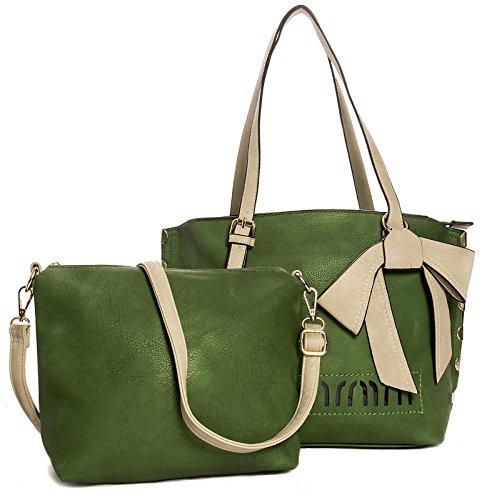 Big Handbag Shop - Sacchetto donna Verde (verde)