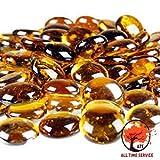 ATS Decorative Glass Pebbles colorful va...
