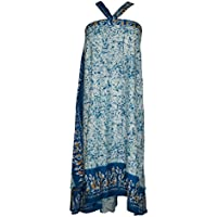 Mogul Ladies Magic Wrap Around Skirt Boho Handmade Reversible Beach Dress One Size