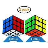 FAVNIC Speed Cube Set, Magic Cube Set de 3x3x3 Cube Smooth Puzzle Cube Toys
