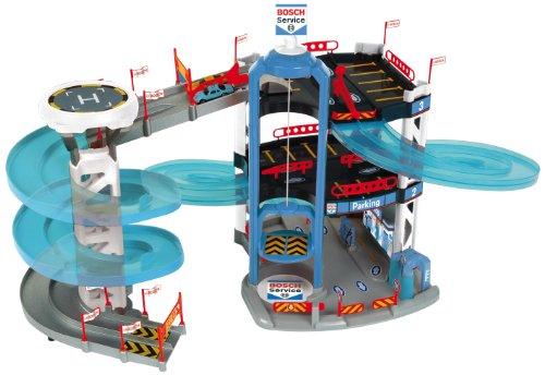 Preisvergleich Produktbild Theo Klein 2809 - Bosch Parkhaus mit 3 Ebenen und Turm mit Spurwechsel, Spielzeug