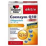 Doppelherz Coenzym Q10 + Magnesium / Vitamin B1 + B5 + B6 als Beitrag zu einem normalen Energiestoffwechsel / 1x 30 Kapseln