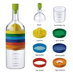Plastic Kitchen Tool, Multicolour