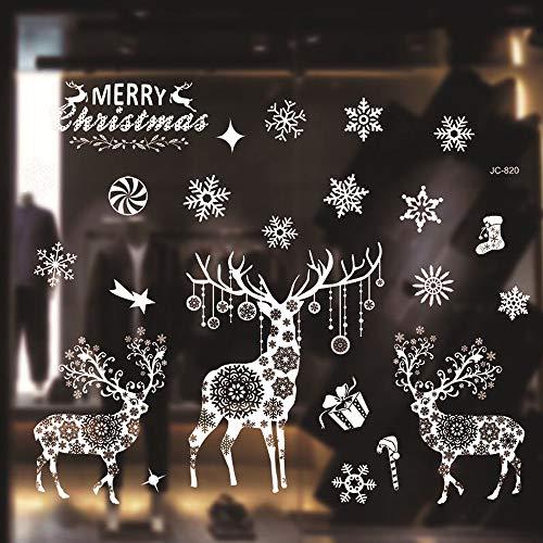 Moinkerin Merry Christmas Pegatinas de Navidad