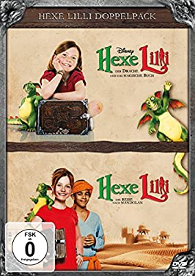 Hexe Lilli - Der Drache und das magische Buch / Hexe Lilli - Die Reise nach Mandolan [2 DVDs]