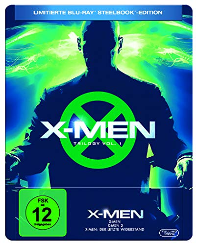 X-MEN TRILOGIE 1-3 (3-BD) STEELBOOK [Blu-ray] [Limited Edition]