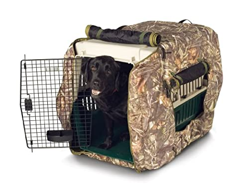 Classic Accessories Insulated Dog Kennel Jacket, Realtree Max-4 Camo, X-large