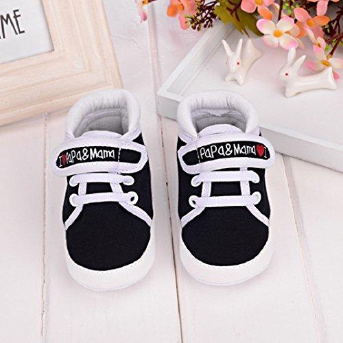 Criança Do Macios Amisom Bonito Menino Tela Negra Sneaker Bebê Menina Sapatos Infantil Única qACwRCH