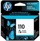 HP 110 - Tri-color Inkjet Print Cartridge (CB304AE)