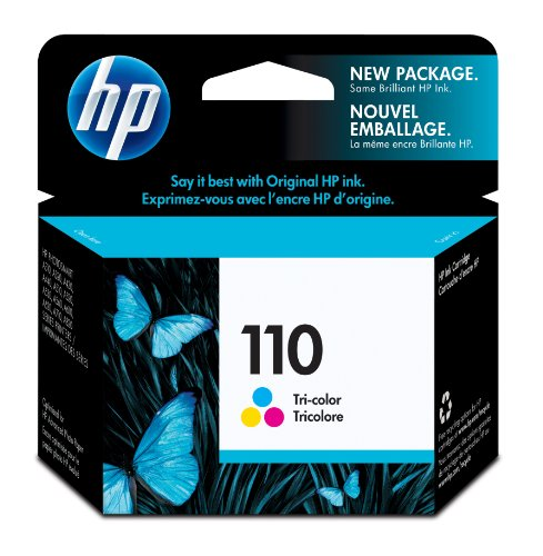 HP 110 Tri-color Original Ink Cartridge (CB304AE)
