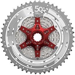 CASSETTE SUN RACE 11 VELOCIDADES 10-50 METAL