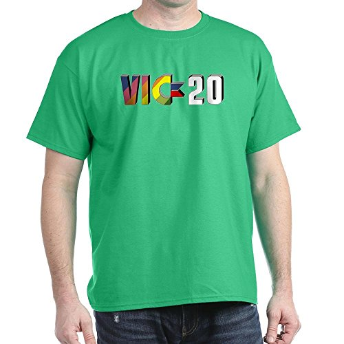 CafePress - Commodore VIC-20 Black T-Shirt - 100% Cotton T-Shirt