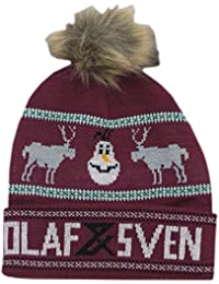 Disney Frozen Olaf and Sven Pom Beanie Hat