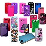 WHOLESALE JOBLOT OF 30 X PHONE CASES FOR HTC, SAMSUNG, SONY, LG, APPLE, MOTOROLA ETC