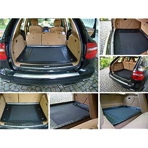 Polmo Kofferraumwanne Laderaumwanne mit Antirutsch. Genaue Passform für Das genannte Modell. (passend für Das angegebene Fahrzeug,Siehe Artikelbeschreibung)