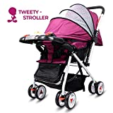 Little Olive Tweety Reversible Stroller and Pram with Singing Food Tray -