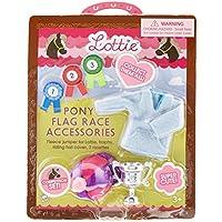 Zubehör für Puppe Lottie LT024 Pony Flag Race Zubehörset - Puppen Zubehör Kleidung Puppenhaus Spieleset - Zubehör Kleidung Puppenhaus Spieleset - ab 3 Jahren