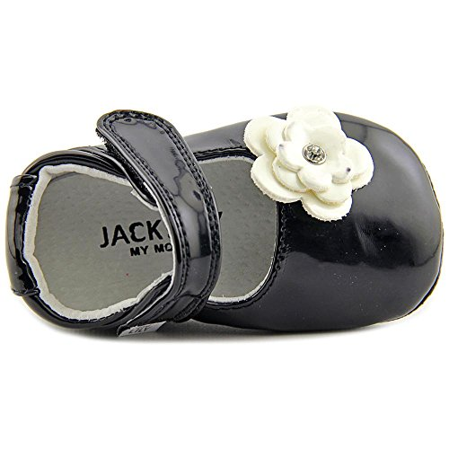Jack and Lily Skyler Kleinkind Synthetik Mokassin Black/Ivory