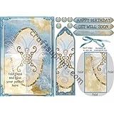De plumas y Pearl diseño de mariposas marcapáginas por Julie Hill
