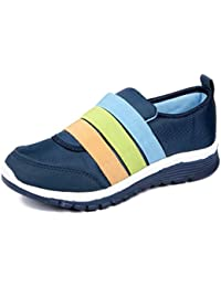 Asian Shoes Butterfly 06 Navy Blue Women's Sports Shoes