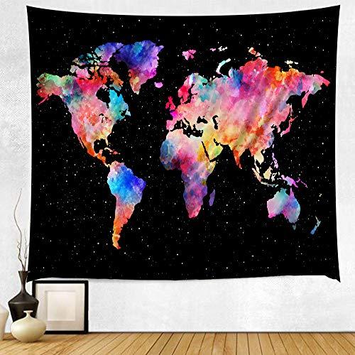 AIKAI Wandbild Hintergrund Wandteppich Wandteppich Europa und Amerika Strandmatte 230 * 180CM