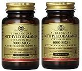 Solgar, Sublingual Methylcobalamin, 5000 mcg, 60 Nuggets (120 Nuggets) by Methylcobalamin, 5000 mcg