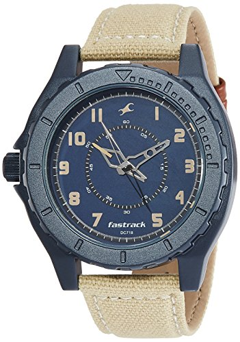 Fastrack OTS Explorer Analog Blue Dial Men's Watch - 9462AL01