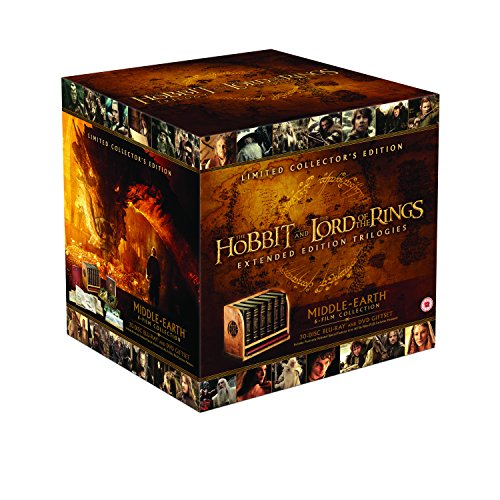 Middle Earth - Six Film Limited Collectors Edition [DVD and Blu Ray] [2016] [Blu-ray]