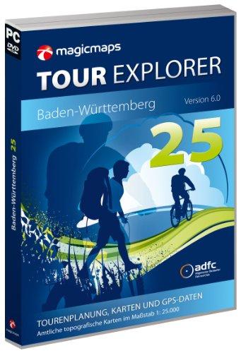 Preisvergleich Produktbild MagicMaps Routenplanungsoftware DVD Tour Explorer 25 Bw V6.0 Baden-Württemberg, FA003560023