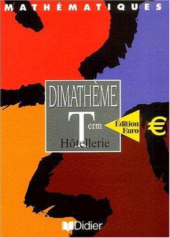 Mathématiques Terminale Hôtellerie