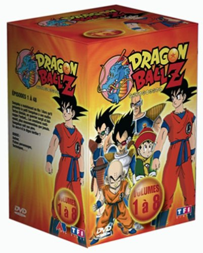 Coffret Dragon Ball Z 8 DVD : Vol. 1 à 8