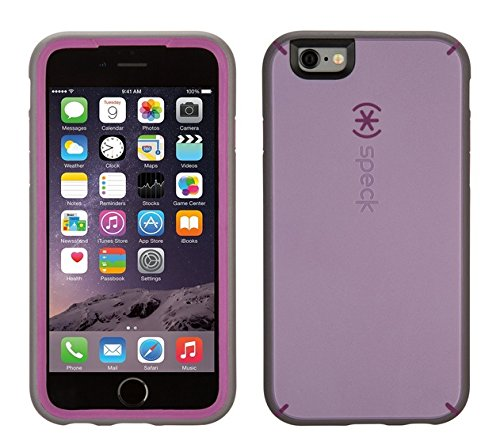 Speck Hard Case Candy Shell für Apple iPhone 6/6S 11,3 cm (4,7 Zoll) clear iPhone 6 Lilac Purple/Raisin Purple/Soot Grey