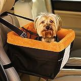 joysouleu Booster Hund Auto Sitz mit Hund Sicherheitsgurt Leine für Hunde und Katzen Haustiere bis zu 30Pfund