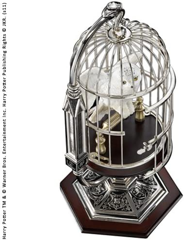 Noble Collection in Miniature Hedwig in Collection Cage B00XKN87AY 2682ce
