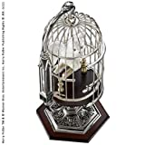 Noble Collection Miniature Hedwig In Cage
