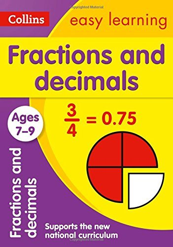 Fractions and Decimals Ages 7-9 (Collins Easy Learning KS2) by Collins Easy Learning (June 26, 2015) Paperback