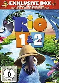 Rio / Rio 2 - Dschungelfieber (3 Discs, Exklusivprodukt)