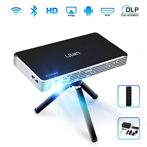 LED Projecteur Vidéo Portable Uten Videoprojecteur Mini Full HD...