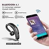 Mpow Bluetooth Headset, [Business Stil] Wrieless Auto Headset,Stereo-Sound Ohrhörer Freisprechen mit Mikrofon,Bluetooth 4.1 in Ear Kopfhörer mit CVC-Technologie für iPhone iPad,Samsung,Sony,HTC, usw. - 3