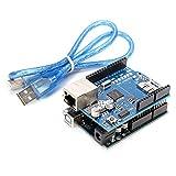 BephaMart Geekcreit ATmega328 UNO R3 + Ethernet Shield W5100 Kit für Arduino