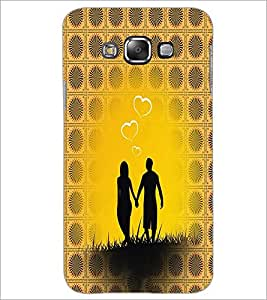 PrintDhaba Couple D-4562 Back Case Cover for SAMSUNG GALAXY A8 (Multi-Coloured)