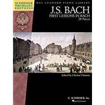 J. S. Bach First Lessons in Bach: 28 Pieces, Schirmer Performance Editions