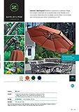 NATUR + TERACOTTA AUSVERKAUFT 2018 - AMPELSCHIRM - 300 cm Ø - ALU - SONNENSCHIRM - DER KLASSIKER - 100 % POLYESTER ca. 190 g/m²-UPF 30+50+ wetterfest - Modell: JAMAICA - ZANGENBERG - 300 cm - 8 teilig - Farben - bei Bestellung Farbe angeben : NATUR - TERRACOTTA - GRÜN - BLAU - inkl. Schutzhülle mit Stab und Reißverschluss - inkl. Plattenständer für 4 Platten 50 x 50 x 5 cm (Platten nicht im Lieferumfang) - VERTRIEB - Holly  Produkte STABIELO  - IM PREIS TEIL - SPEDITIONSKOSTEN ENTHALTEN -