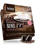 Nespresso kompatible Kapseln von Belano für Kapsel-Maschine - 50x Kaffeekapseln 100% Arabica Kaffee Stärke 10 Lungo Caffe Crema für Nespresso-Maschinen