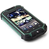 "Sudroid Z18 Mini Unlocked Smartphone Android 4.0.4 Dual SIM Dual Core Dustproof Shockproof 2.45"" Mini Mobile Phone ( Green)"