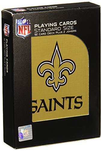 Pro Specialties Group NFL New Orleans Saints Playing Cards -