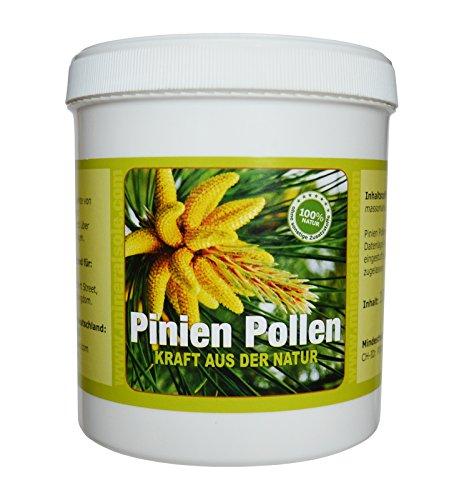 Pinien Pollen 100g Wildsammlung 99{298b2fdb52fc6ba5bbd962cf4412a83dc0d32342dbcdb5b702183efbea0be4f6} Zellwandgebrochen in deutschem Labor auf Schadstoffe geprüft