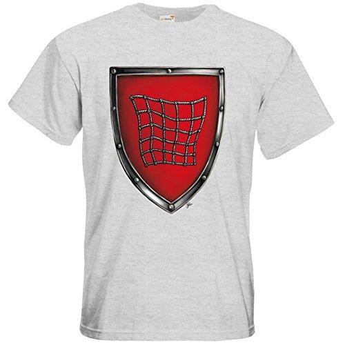 getshirts - Das Schwarze Auge - T-Shirt - Die streitenden Königreiche - Wappen Salza Ash