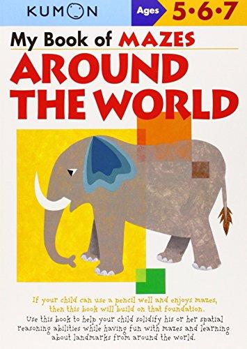 My Book of Mazes Around the World: Ages 5, 6, 7 by Kumon Publishing (Creator), Toshihiko Karakida (Illustrator), Yoshiko Murakami (Illustrator) (1-Jan-2007) Paperback
